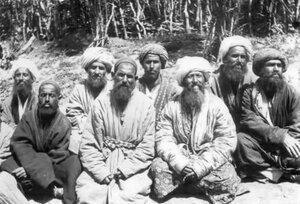 Горцы из окрестностей Самарканда