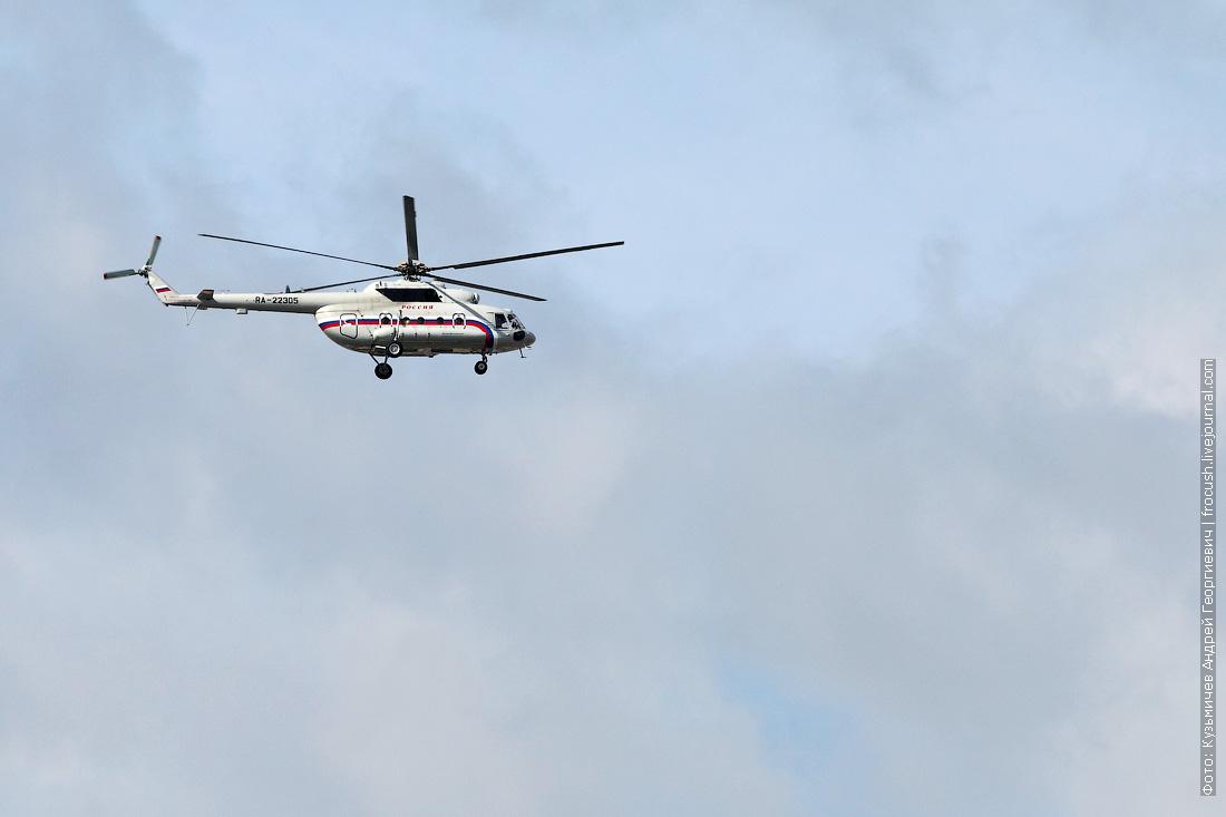 RA-22305 вертолеты специального летного отряда «Россия»