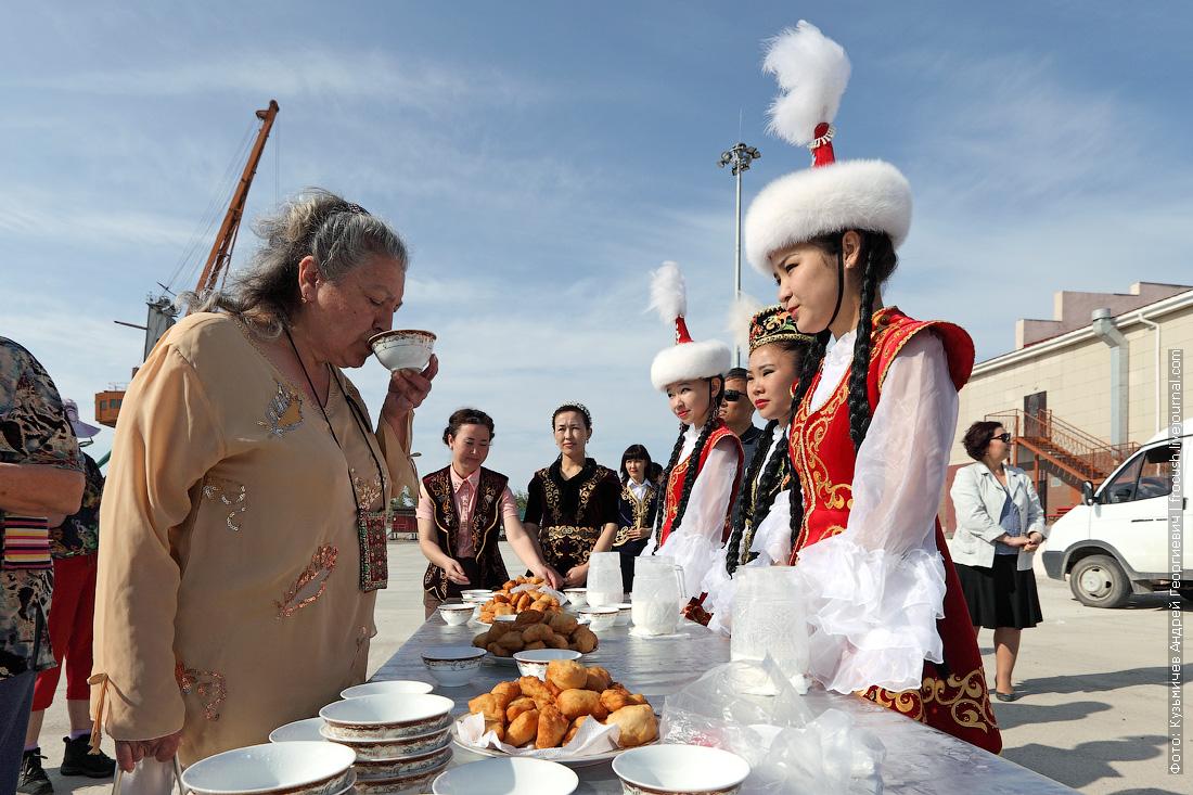 встреча туристов Русь Великая в Казахстане