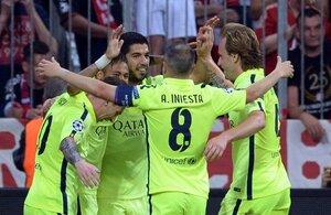 «Барселона» стала первым финалистом Лиги чемпионов
