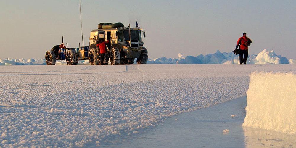МЛАЭ-2009 (морская ледовая автомобильная экспедиция)