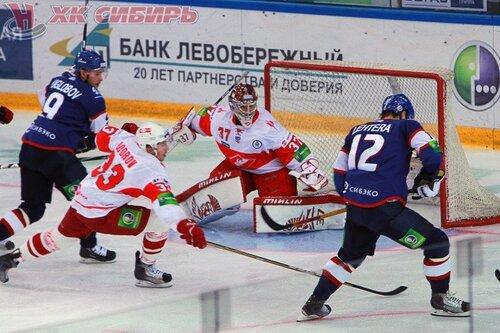 Сибирь - Спартак 3:4 12-10-2011