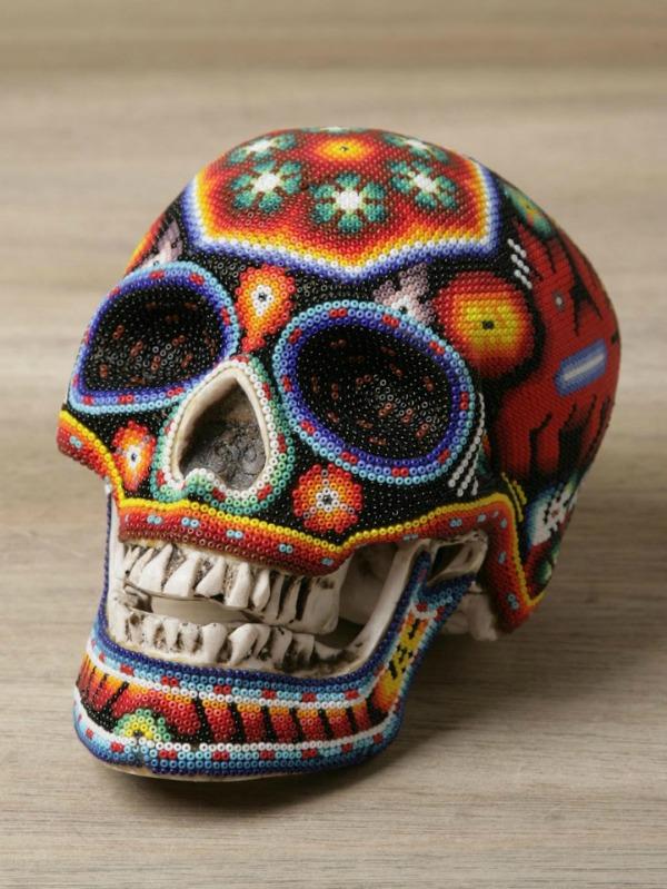 Изысканные черепа ко дню всех святых