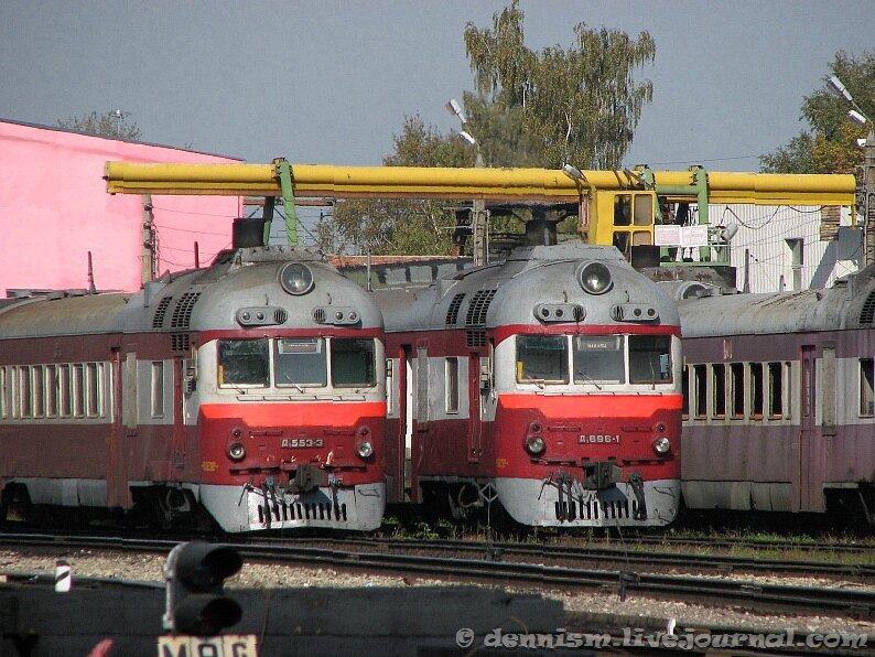 Дизель-поезда Д1-553 и Д1-696