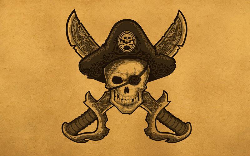 Обои на рабочий стол пиратская тематика