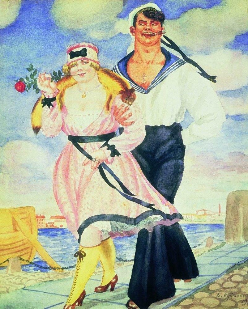 Матрос и милая. 1920.jpg
