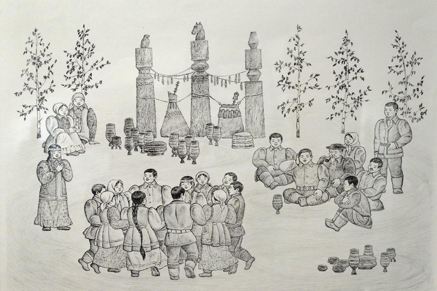 Якутская живопись