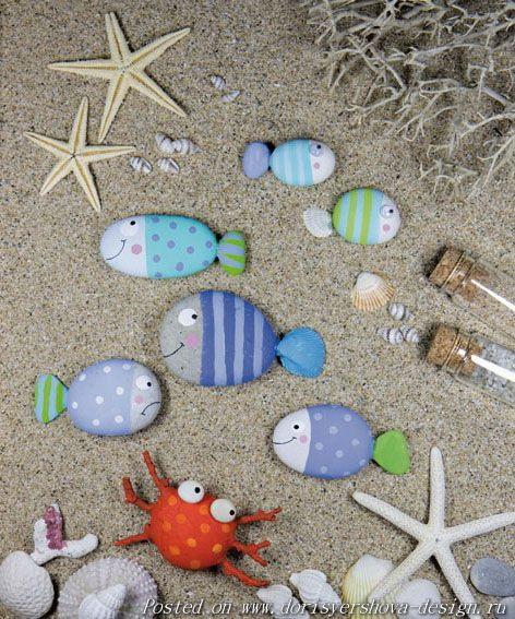 морская галька, камни, декор гальки, резьба по камню,декорирование природных камней, использование гальки в декоре интерьера, морской дизайн