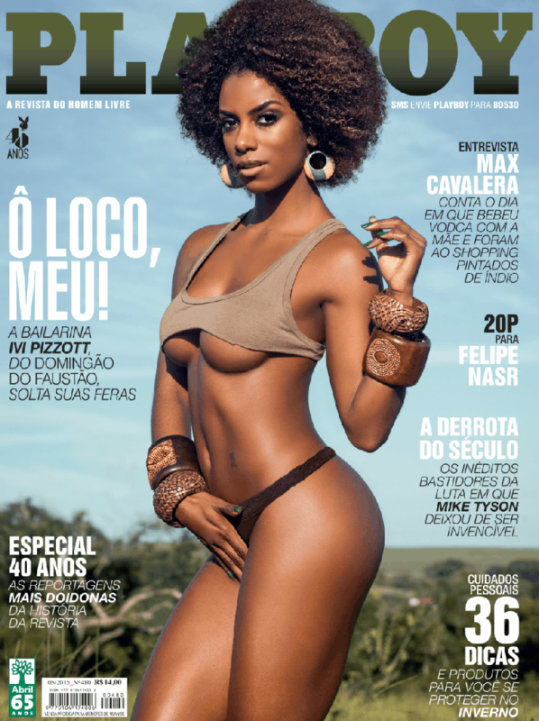Ivi Pizzott in Playboy may 2015