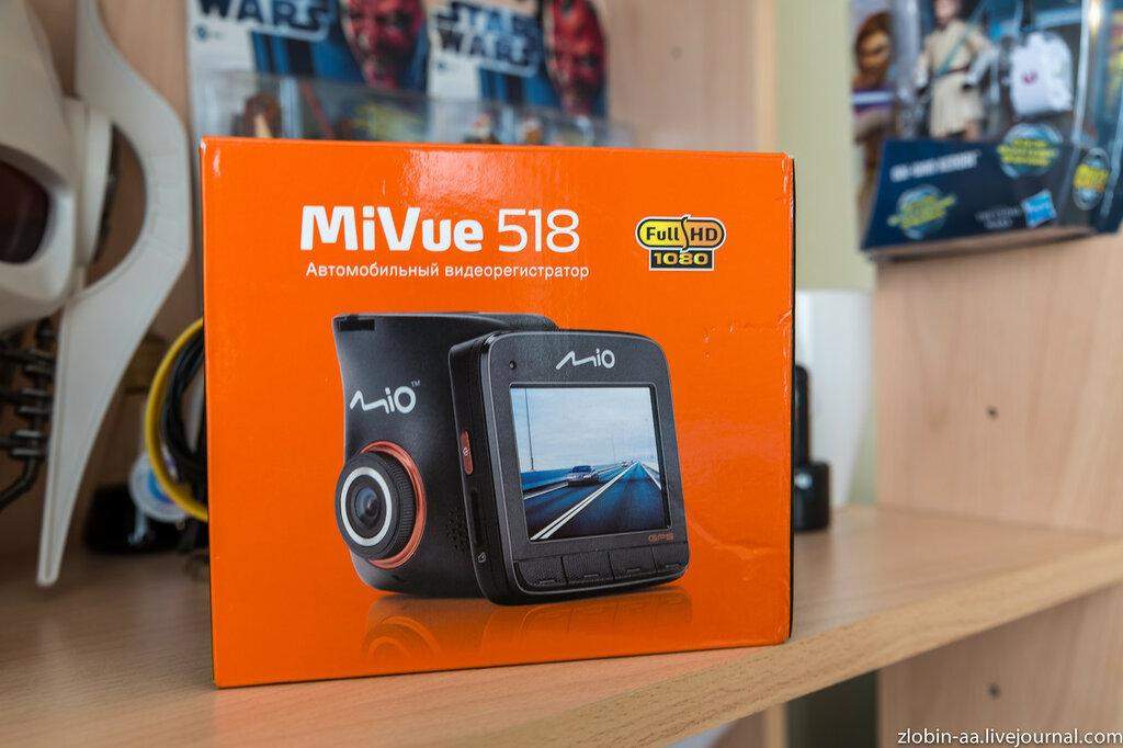 Видеорегистратор Mio MiVue 518