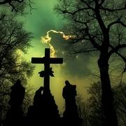 Забабоны на могілках