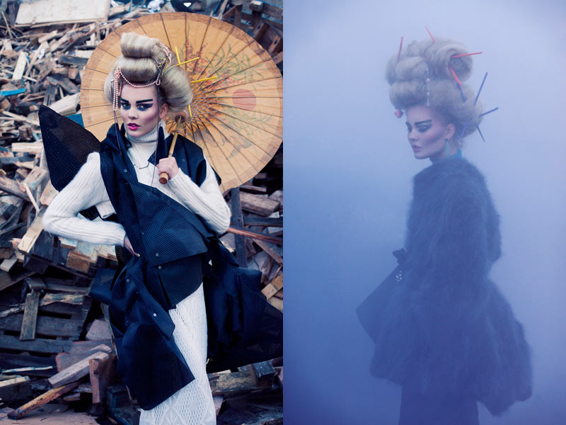 Образ современной гейши