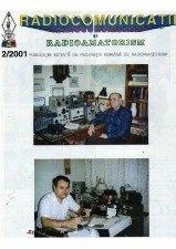 Radiocomunicatii si radioamatorism № 2, 2001