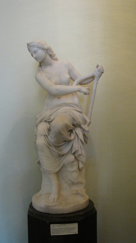Loreley statue by Gustav Kaupert (1845) in the Mendelssohnhaus Leipzig.