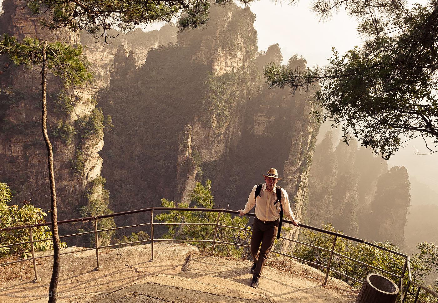 Фото 2. Туры в Китай. Отзывы туристов. Поездка в природный парк Чжанцзяцзе. Там в китайских далях