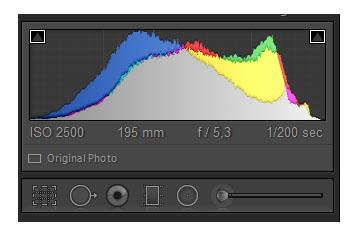 Фото 1. Уроки фотографии для начинающих фотографов. Гистограмма в графическом редакторе.