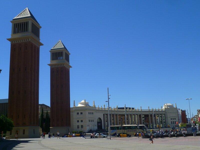 Барселона, площадь Испании (Barcelona Square Spain)