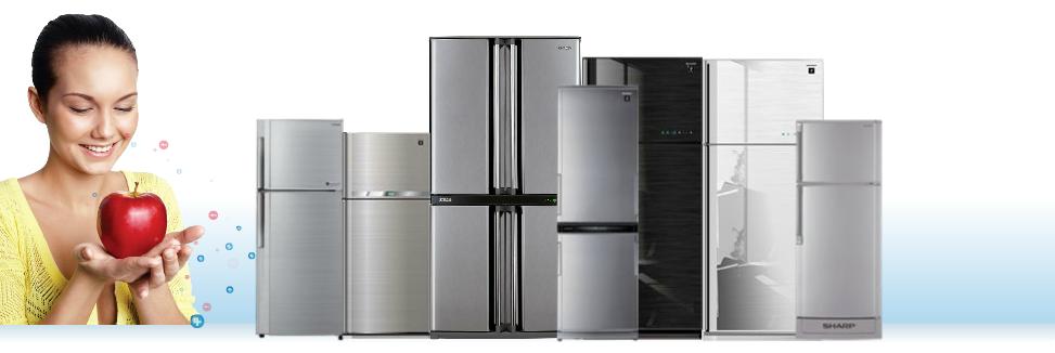 Холодильники Sharp - сделано в Малайзии