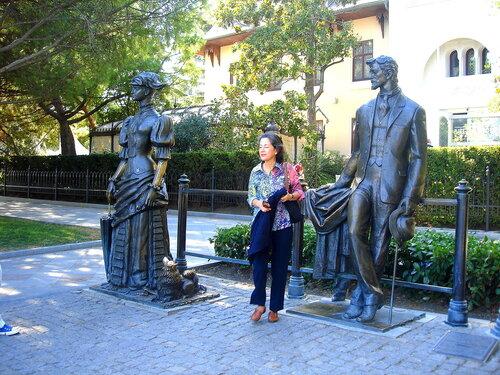 Крым,Чёрное море,Ялта,скульптура