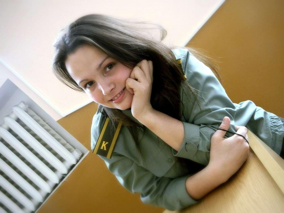 От тайги до британских морей ... : Лица девушек из Российской армии (26)