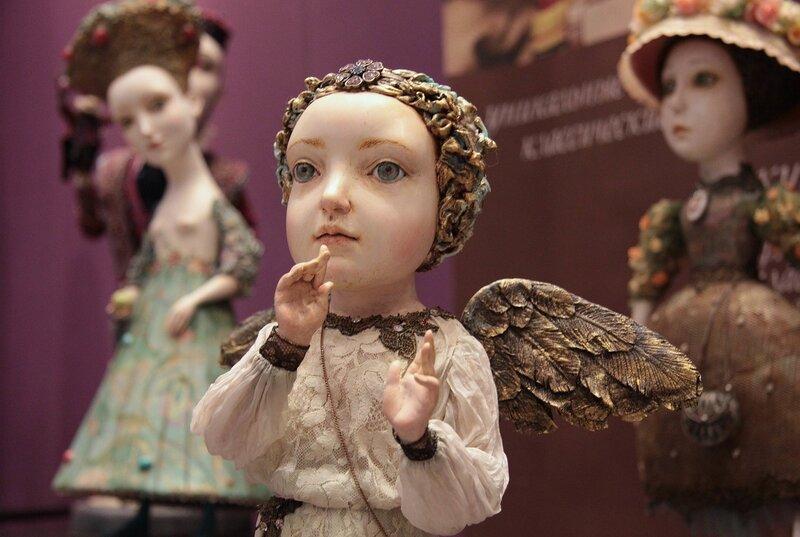Куклы Гули Алексеевой