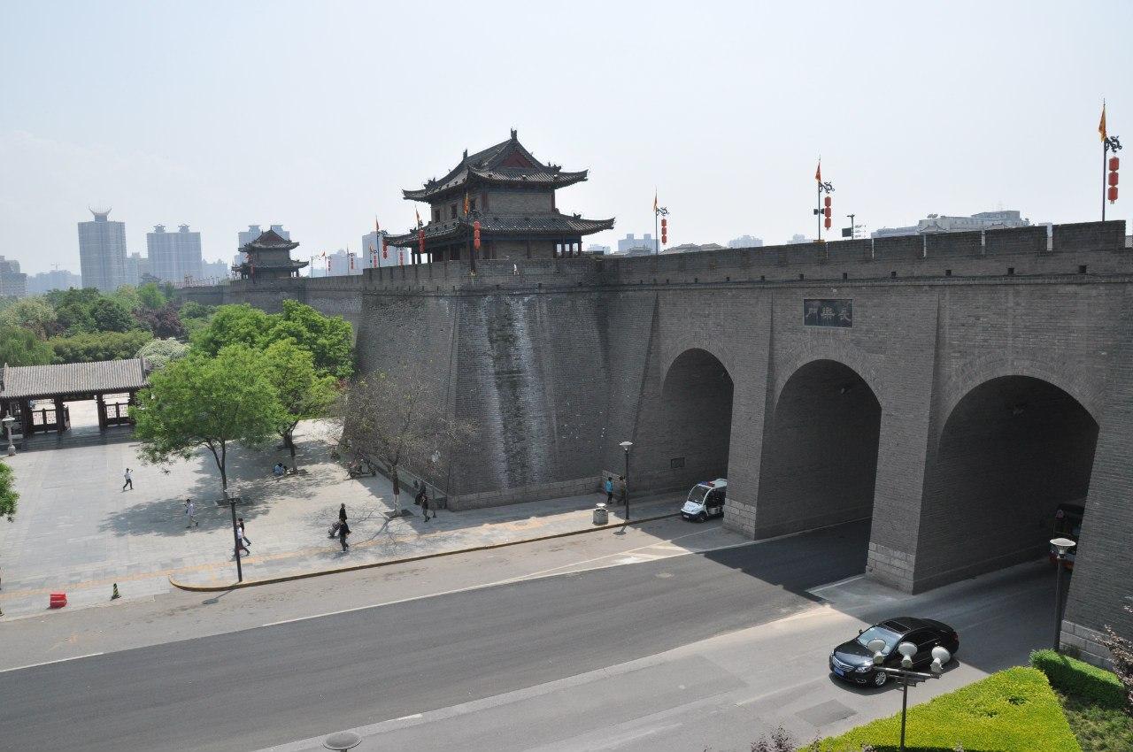 Городская стена Сианя