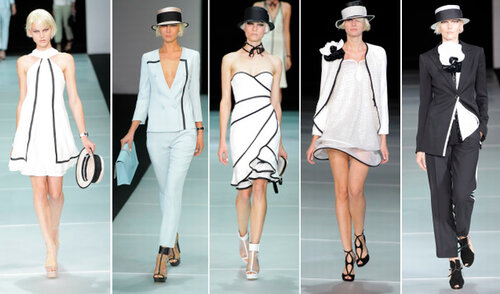 Emporio Armani milan fashion week spring summer 2012