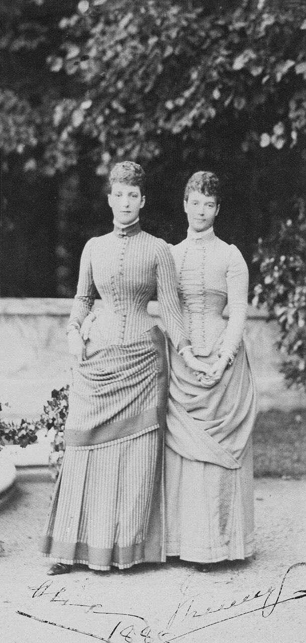 1885. Александра Датская и императрица Мария Фёдоровна