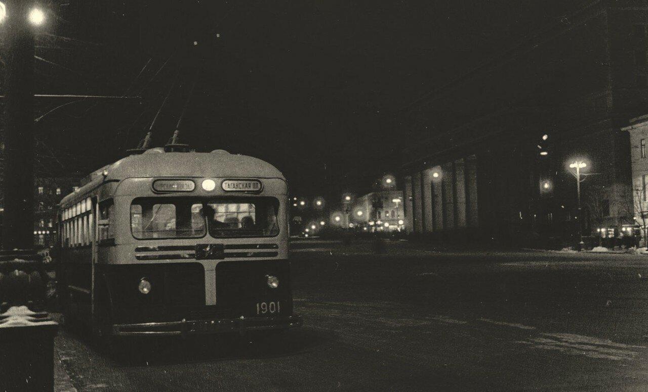1957. Площадь Маяковского