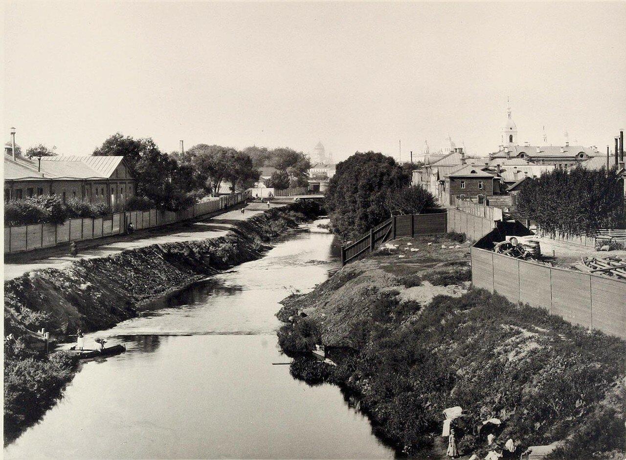 353. Вид с Высокояузского моста (вниз по реке)