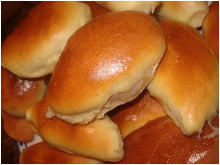 мягкие дрожжевые пирожки