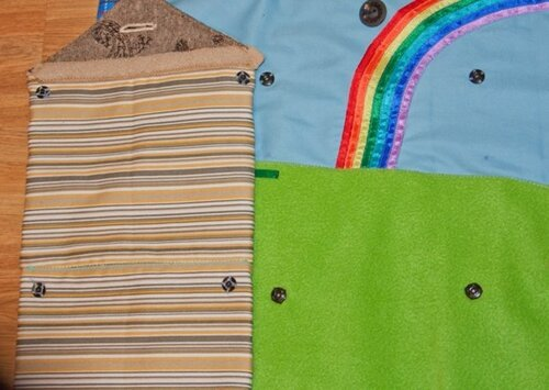 Развивающий коврик для детей... двухэтажный дом