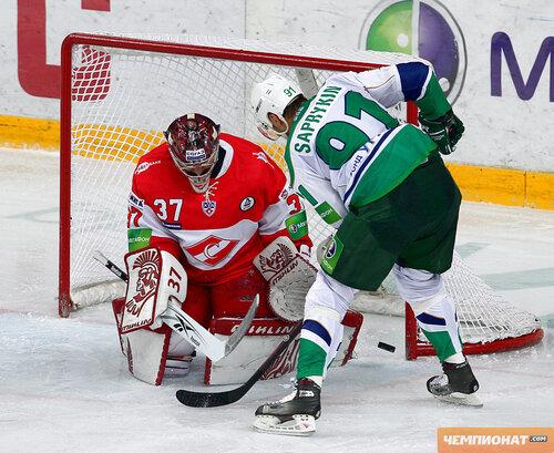 Спартак - Салават Юлаев 2:3 ОТ 28-10-2011