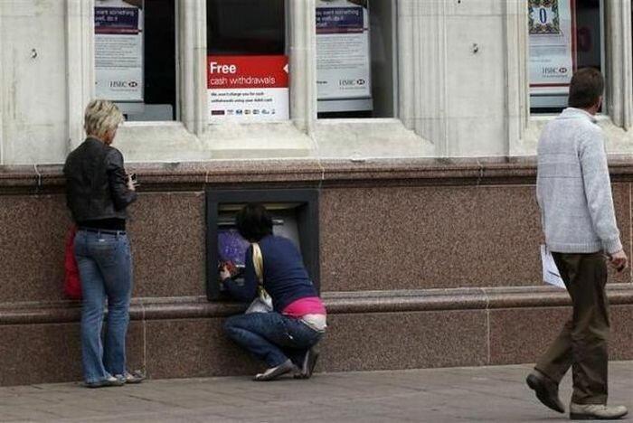 Прикольные картинки про банкомат, надписями