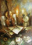 Натюрморт со скрипкой х.м. 50-70.JPG