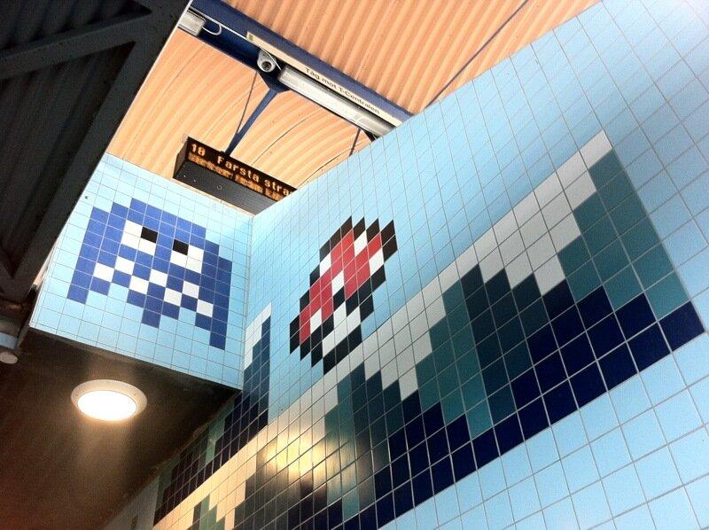 Восьмибитное метро в Стокгольме