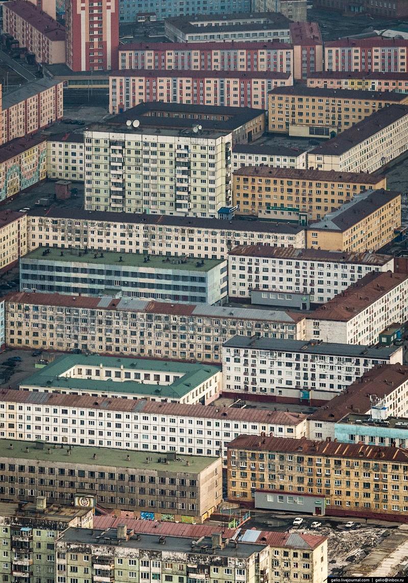 Норильск и Дудинка с высоты (50 фото)
