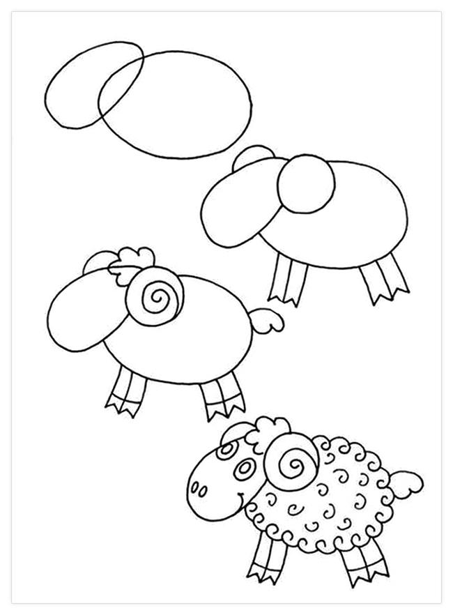 Красивые рисунки карандашом, которые легко нарисовать сдетьми (15 фото)