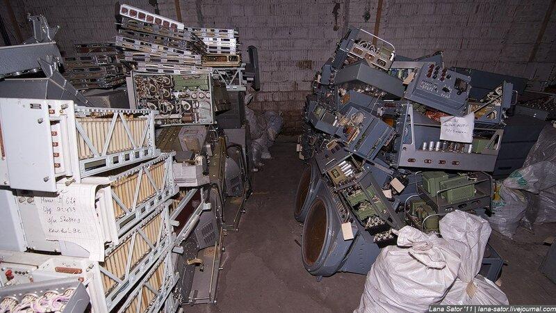 Брошенная советская техника