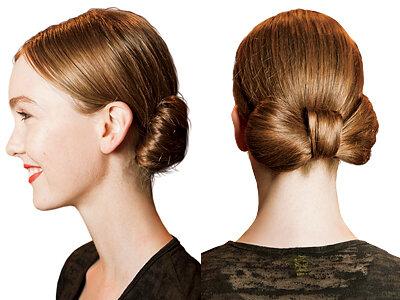 Есть несколько вариантов выполнения данной причёски: на затылке либо...  Как сделать прическу бант.  Пятое.
