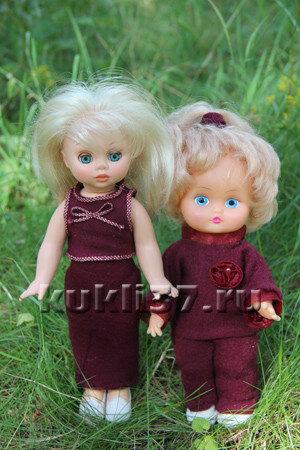трикотажные костюмы для куклы