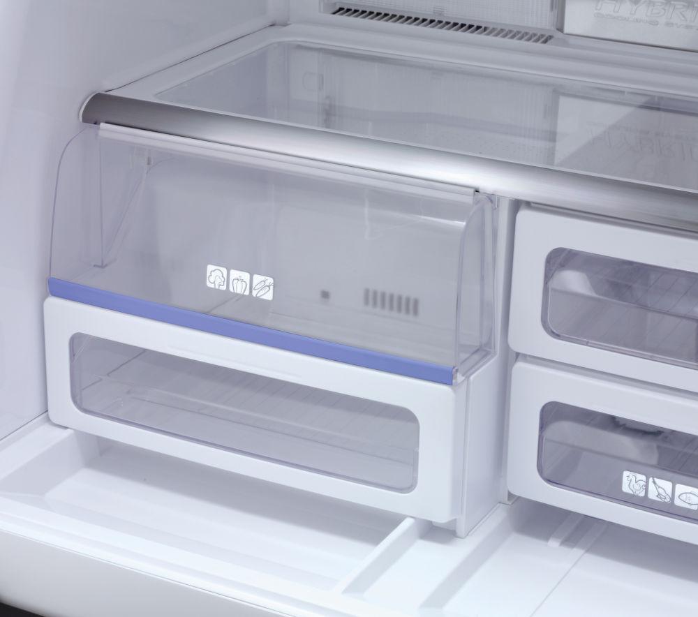 холодильник Sharp - удобные полки - NoFrost