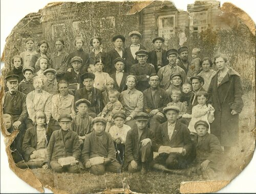 Максатихинская школа. 1929 год. Луговые (Фон-Дервиз).