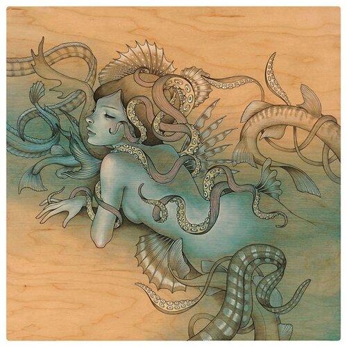 русалка и осьминоги
