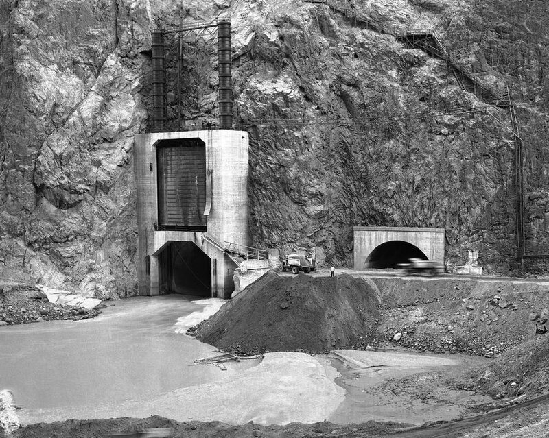Hoover Dam Construction 1935