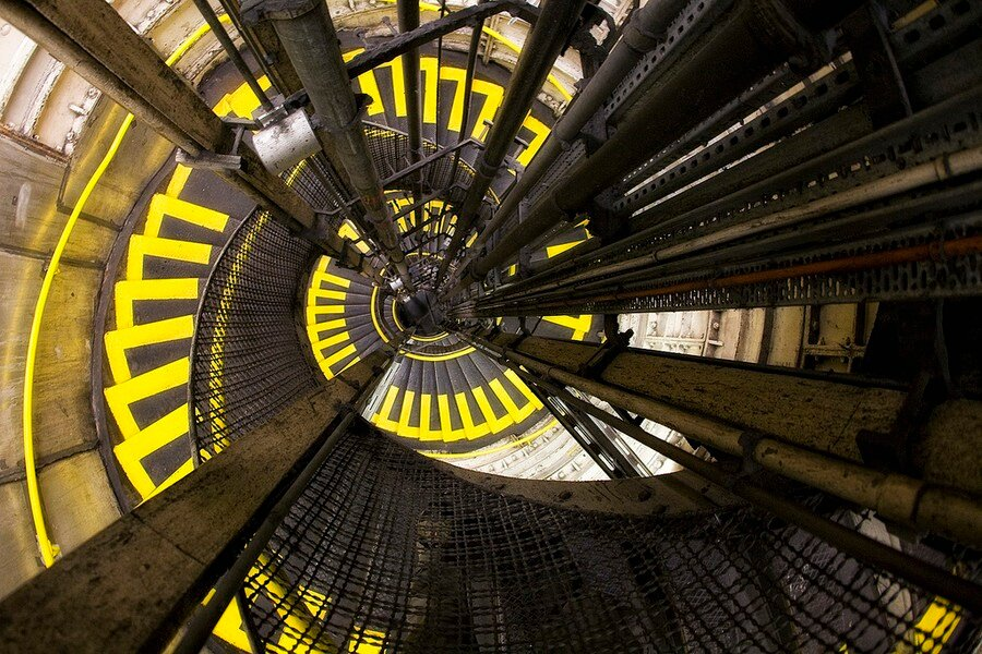 Spiral Effect Images by Nils Eisfeld