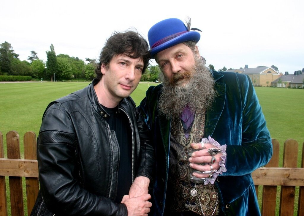 Neil Gaiman and Alan Moore
