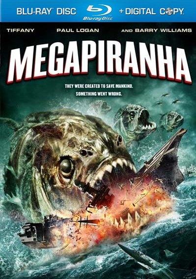 Мега пиранья / Mega Piranha (2010/DVD5/HDRip)