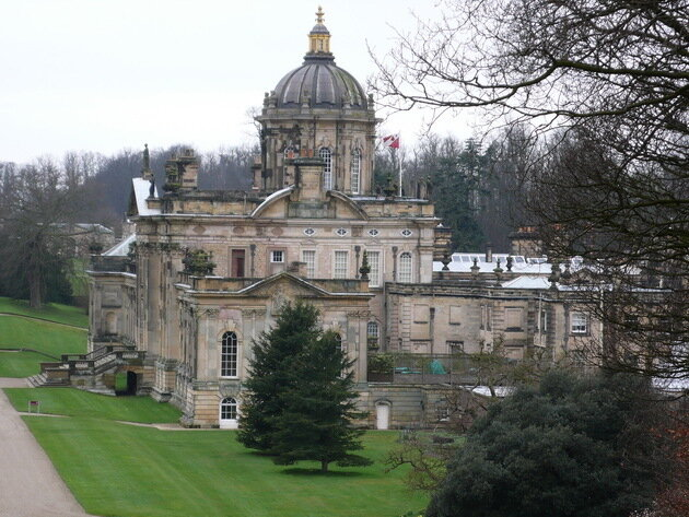 Касл-Ховард (Castle Howard). Англия