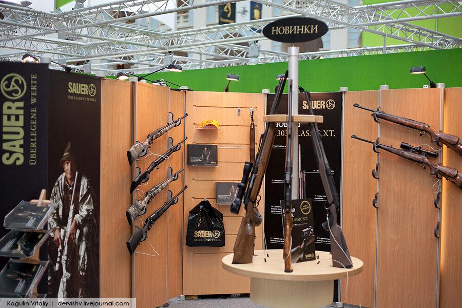 В Москве проходит международная выставка оружия ARMS & HUNTING 2011